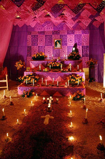 Elementos y significados de los altares del día de muertos