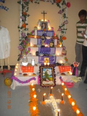 Altar de muertos parral 04